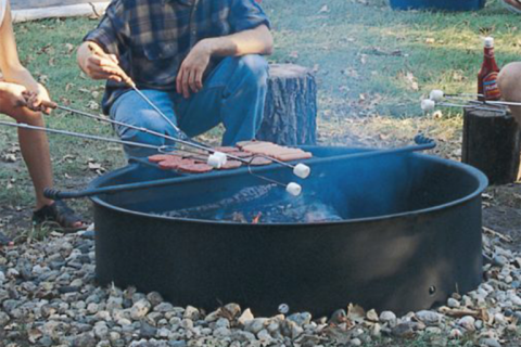 Niedrige Lagerfeuerküche - Copla Classic